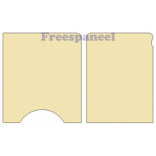 Zijwanden 6,5mm Multiplex Blank Daily